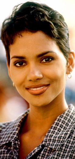 Halle Berry's pixie hairstyle