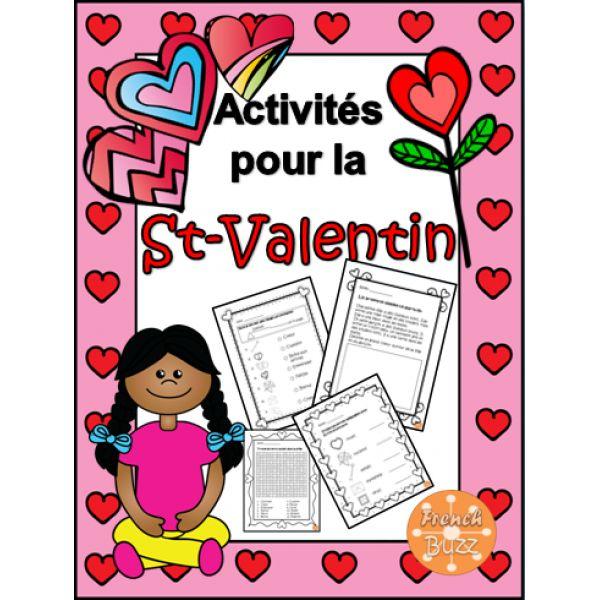 La St-Valentin - activités imprimables amusantes