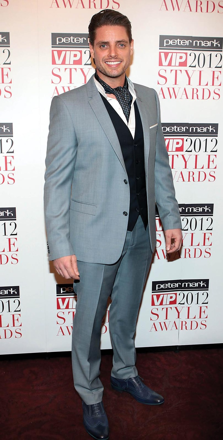 Keith Duffy at the Peter Mark VIP Style Awards 2012