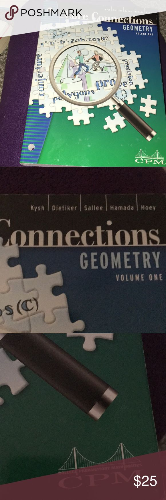 New! CPM Core Connections Geometry volume 1 | Math ...