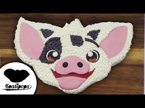Moana: Pua Cake | Disney | How To - YouTube