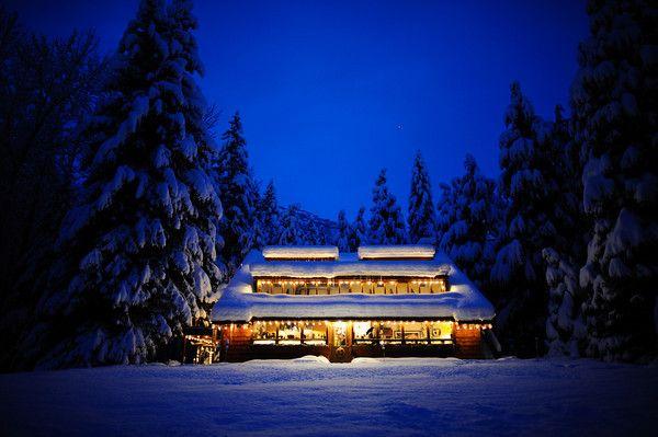 Raven Glacier Lodge | This is our wedding venue!