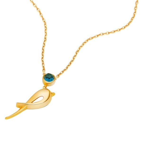 Hüma Kuşu Kolye | Atasay Online Mağaza