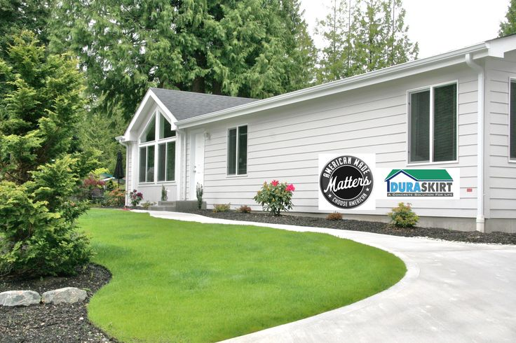 9 best images about mobile home skirting kits on pinterest for Modular homes that look like houses
