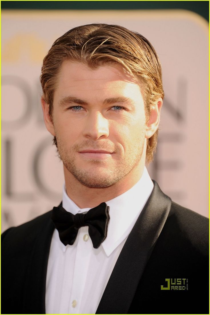 Chris Hemsworth, oh I mean Tuxedo collar! Right...that's what I meant.