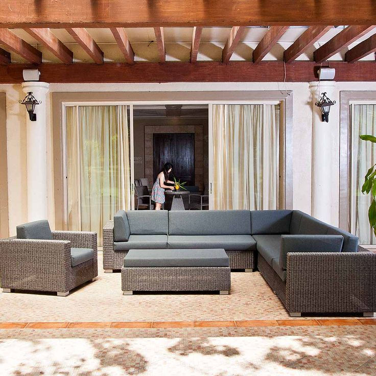 Rattan Garden Bench Part - 49: Bring The Indoors Outside With This Monte Carlo Grey Modular Set. Itu0027s  Incredible How Much More You Use Your Garden When You Have Somewhere Cosy  To Sit With ...