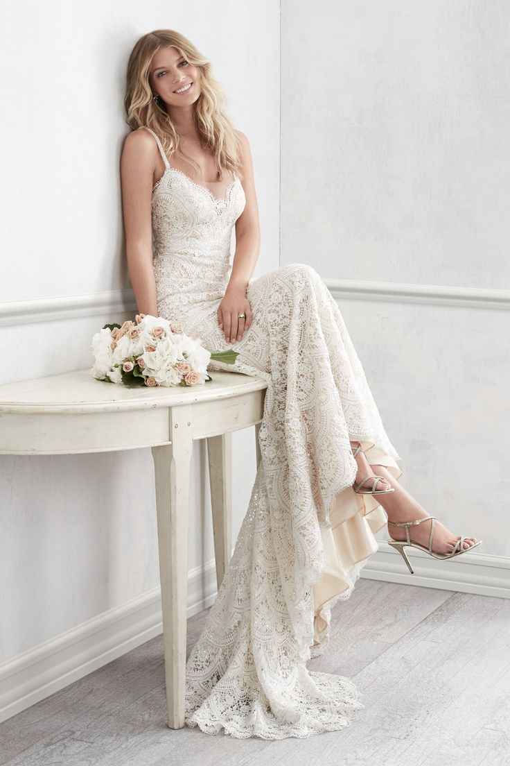 Best 66 Wedding dresses ideas on Pinterest | Wedding frocks, Wedding ...