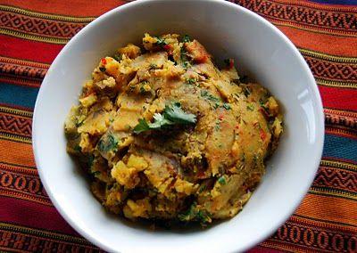 Indian-Spiced Mashed Potatoes | Spud-tators | Pinterest