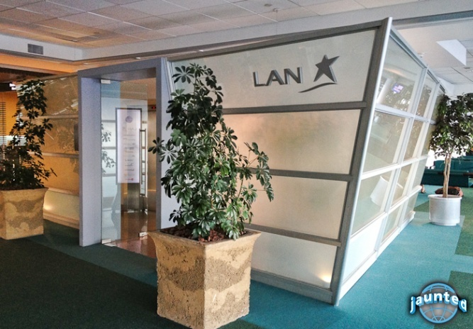 LAN's Neruda VIP Salon is a welcoming site for guests awaiting their flights at the Arturo Merino Benitez International Airport. LAN's Neruda VIP Salon provides a comforting environment complete with lounge areas, work stations and a fully stocked kitchen and bar.