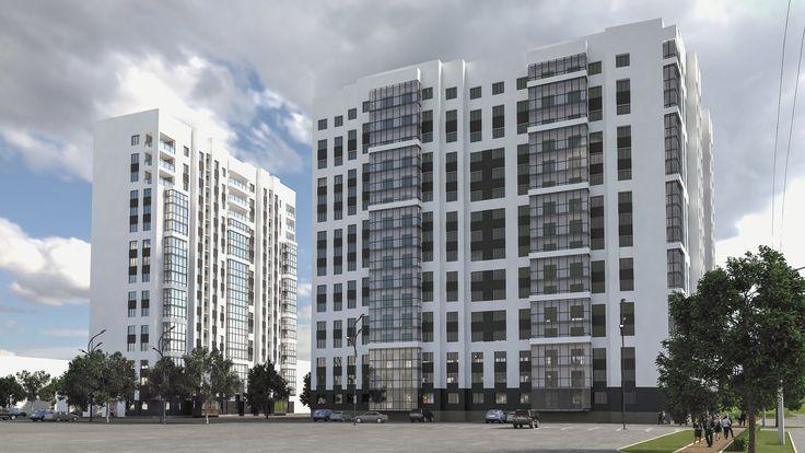 Комплексное проектирование жилого комплекса