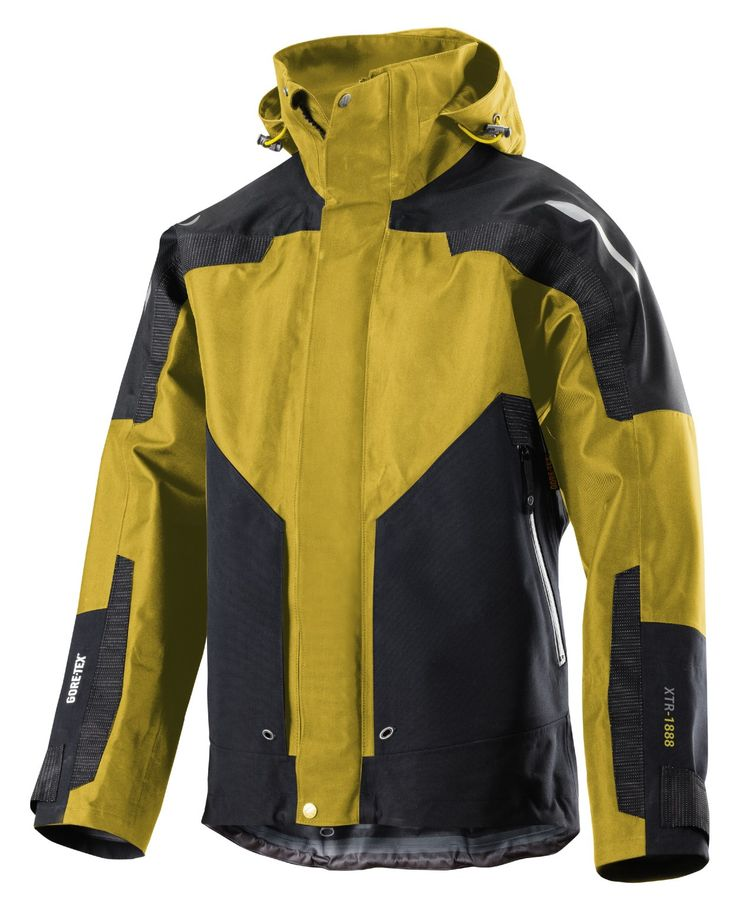 This striking work #jacket in reinforced 3-layer GORE-TEX® fabric will offer you the best protection against the elements. 100% waterproof and windproof!
