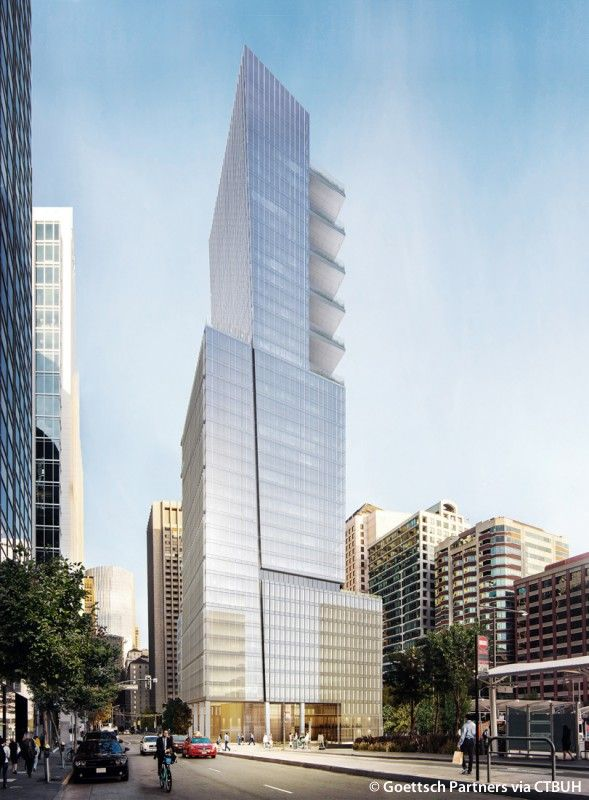 Park Tower At Transbay, San Francisco USA | 184.5 M / 605 Ft |. Architecture  Interior DesignOffice Building ArchitectureOffice ...