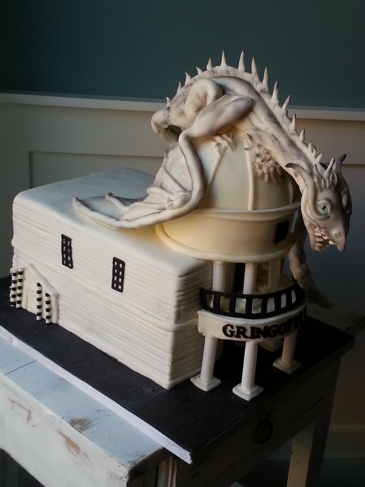 Dragon Cake from Diagon Alley