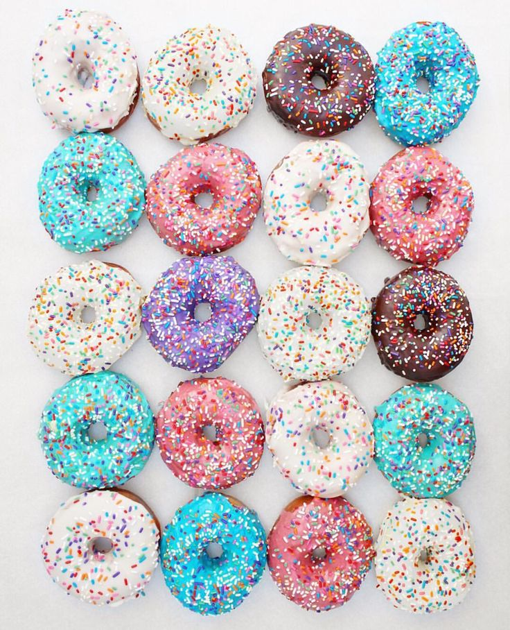 Colors | Color in 2019 | Donuts, Food, Donuts tumblr