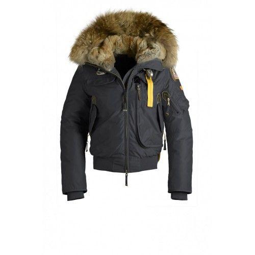 Parajumpers Damen - Parajumpers GOBI Jacke Damen Asphalt PJS Daunenjacke Sale