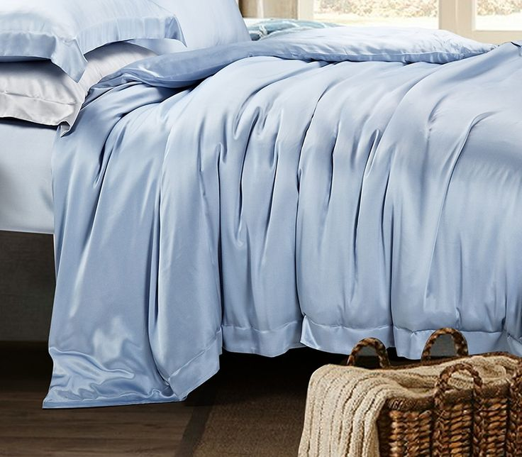 beautiful silk bed sheet color ideas for comfortable sleep