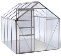 Ogrow WALK-IN 6' X 8' Lawn and Garden Greenhouse