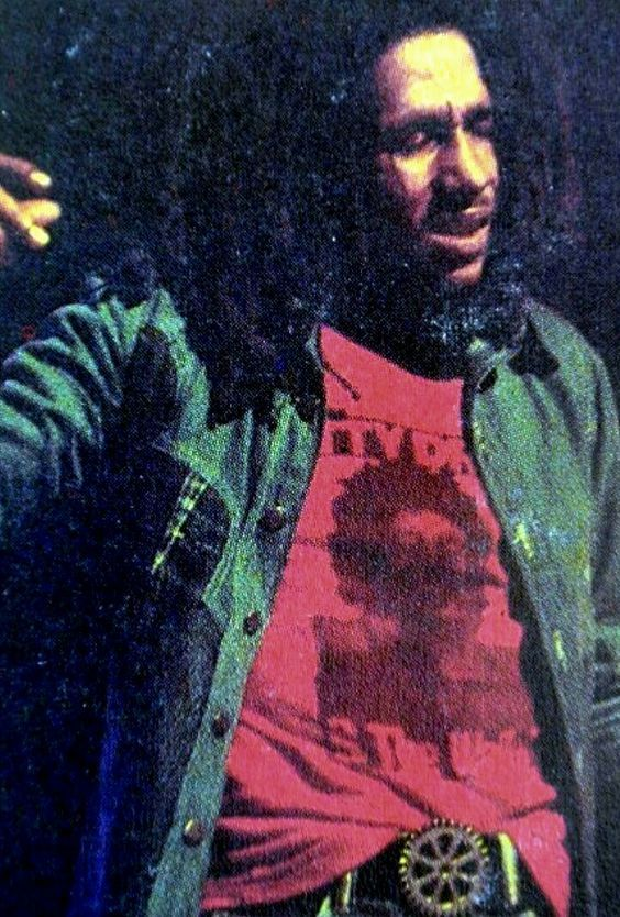 **Bob Marley & The Wailers** Beacon Theater, New York City, NY, USA, April 1976. More fantastic pictures, music and videos of *Robert Nesta Marley & His Wailers* on: https://de.pinterest.com/ReggaeHeart/ ©Dan Asher/ http://danasher.weebly.com/bob-marley-series.html