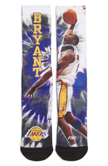 FBF ORIGINALS 'LA Lakers - Kobe Bryant' Graphic Socks available at #Nordstrom #southbaygalleria