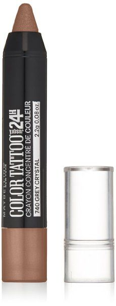 Amazon.com : Maybelline New York Eyestudio Colortattoo Concentrated Crayon Eye Color, Pink Parfait, 0.08 Ounce : Beauty