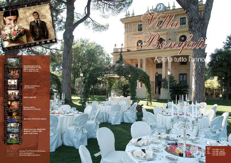 Villa Bonifati - Ricevimenti Castrovillari (Cs)