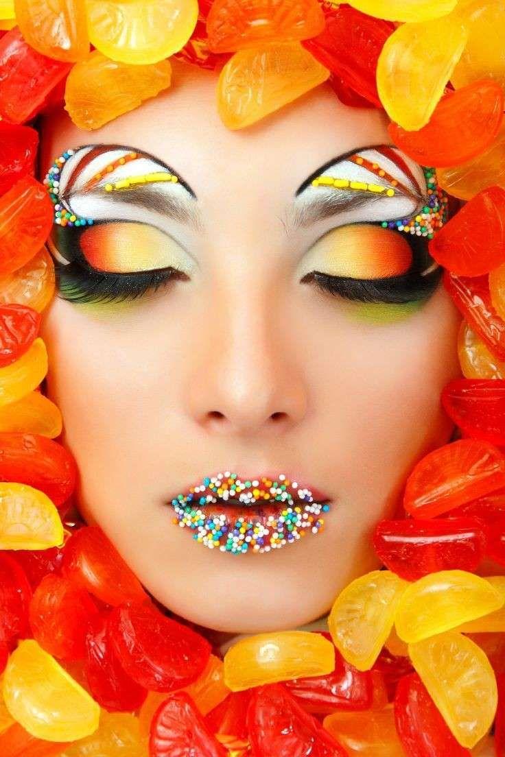 Trucco occhi multicolor per Carnevale  (Foto 25/40)   PourFemme