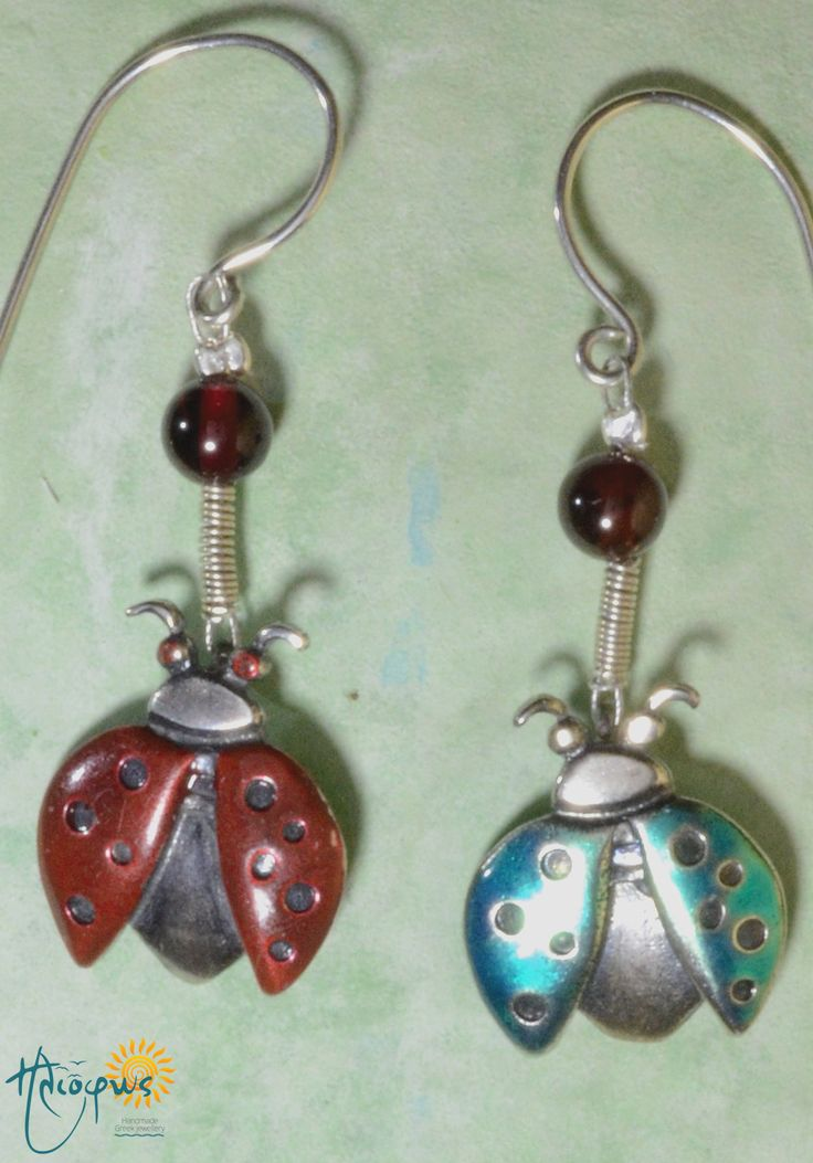 """""""Ladybugs"""" The ladybug is one of my favorite insects; I find it beautiful, whimsical and a constant reminder of spring…"""