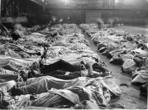 Bodies of the Titanic  sinking near Halifax.