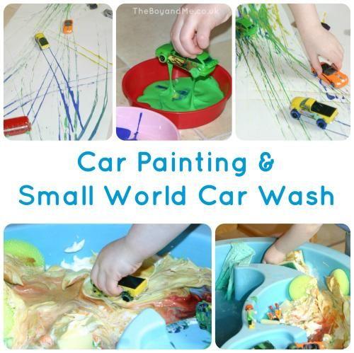 Car Painting & Small-World Car Wash