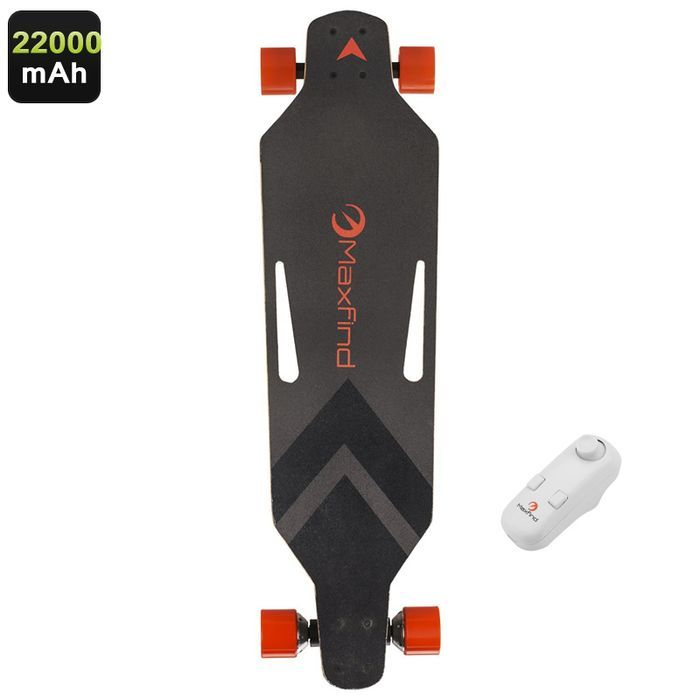 Maxfind Electronic Skateboard Wireless Remote Control 360W Motor Up To 28KM/h Ma: Bid: 608,53€ Buynow Price 608,53€ Remaining 09 dias 05 hrs