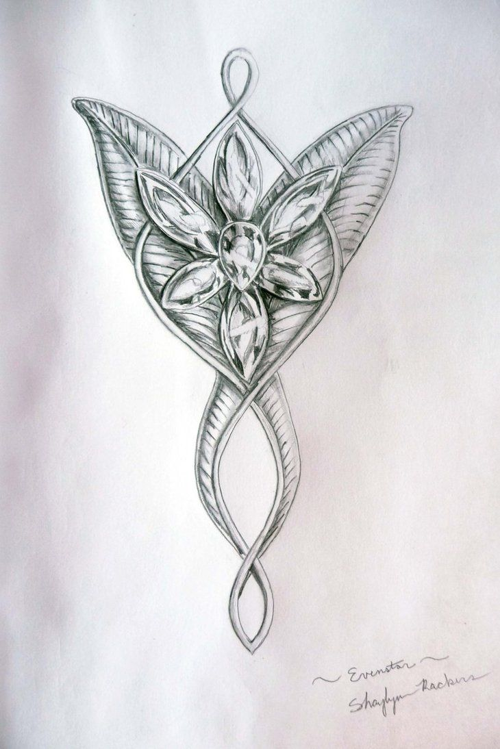 I haven't yet seen an evenstar tattoo that has been done well, but if it was gonna look just like this, I'd get it.