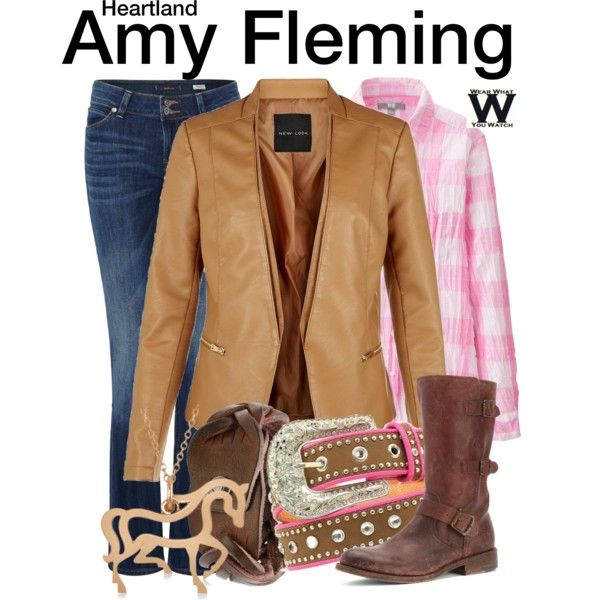Inspired by Amber Marshall as Amy Fleming on Heartland.