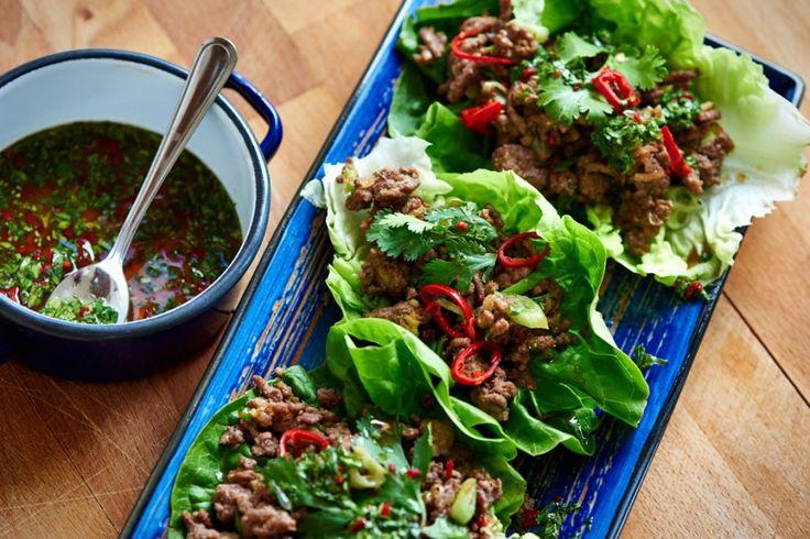 Aziatische groentewraps met gehakt | Puur Eten