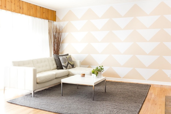 Mur wall adhesives a non permanent and very inexpensive - Alternatives to painting walls ...