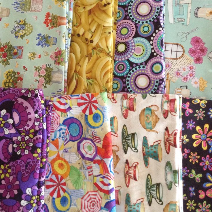 I found some new apron fabrics on my latest trip to see my sister. Some fun sewing ahead.