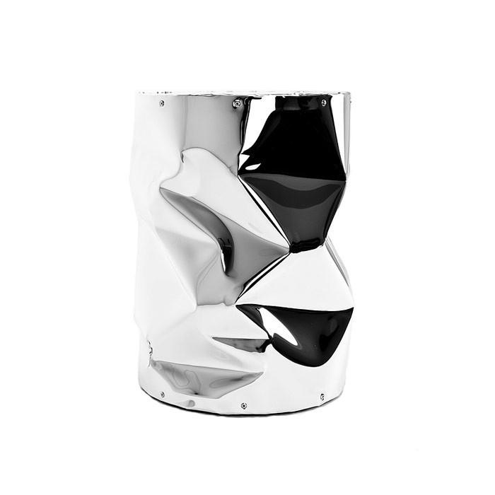 Tabouret - table en aluminium