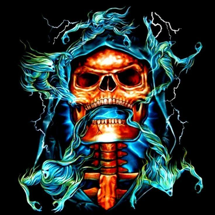 Pin By Tiaan On Skull Skull Art Skull Skull Wallpaper