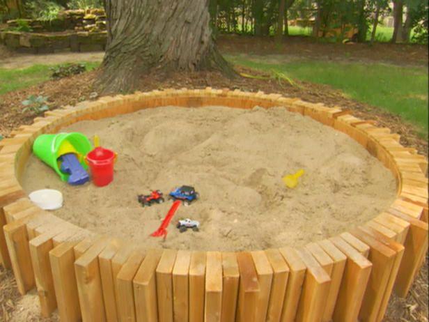 bring the beach in your backyard amazing diy sandbox - Sandbox Design Ideas