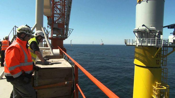 #havsvind Global Tech I wind turbine installation: 5 days on Brave Tern & 5 days https://www.youtube.com/watch?v=vZUOvIoUbNM