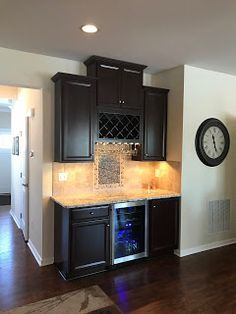 Wine bar!?!?! Ryan Homes Venice Customization: Ryan Homes Venice Wine Bar!