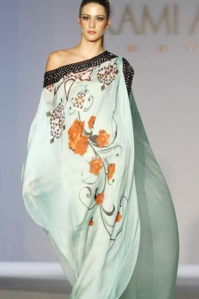 Rami Al Ali. i love the color and print but will have to make a tank dress or maxi. I don't care for this style.