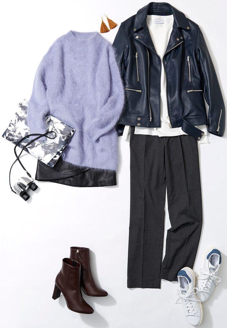 ミニ丈のレザースカートでかわいげアップ! ルミネ新宿のアイテムを使ってこの冬らしいレザーアイテムの取り入れ方をレッスン。人気スタイリスト入江未悠さんが「大人かわいい」をテーマに、上品でまねしやすいスタイリングを提案します!