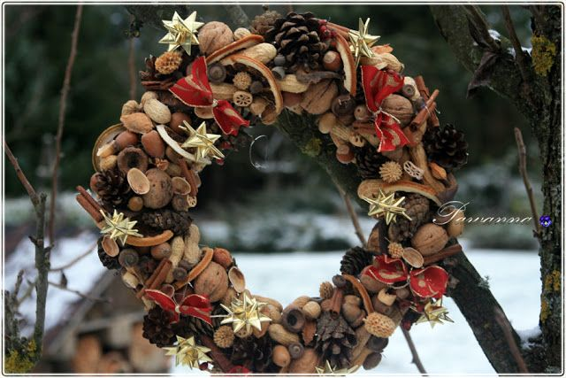natural, Christmas wreath