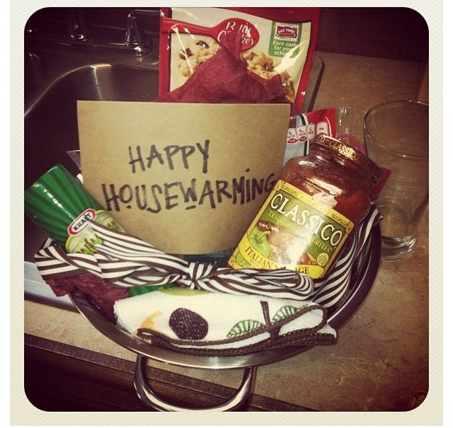 Housewarming Basket Idea New Mom New Home Gifts