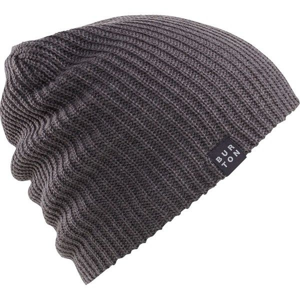 Burton All Day Long Beanie ($15) ❤ liked on Polyvore featuring men's fashion, men's accessories, men's hats and mens beanie hats