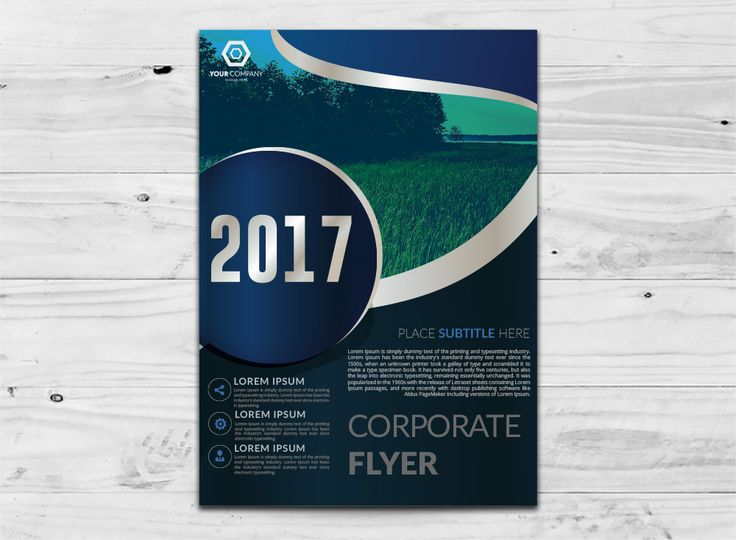 business flyer free vector template