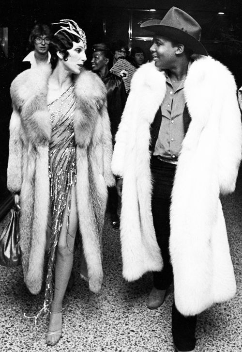 Cher and Sylvester at Studio 54, 1978 - Photo by Ron Galella                    | sharontates