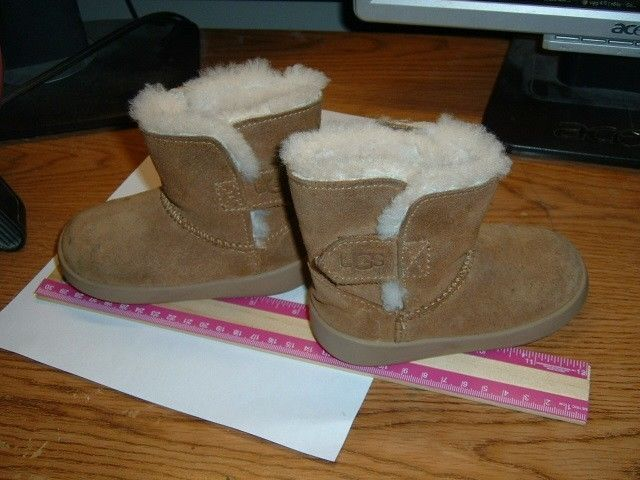 dade44c6c74 UGG TODDLER BOOTS SIZE US 4/5 BROWN SUEDE LEATHER BOOTS #fashion ...