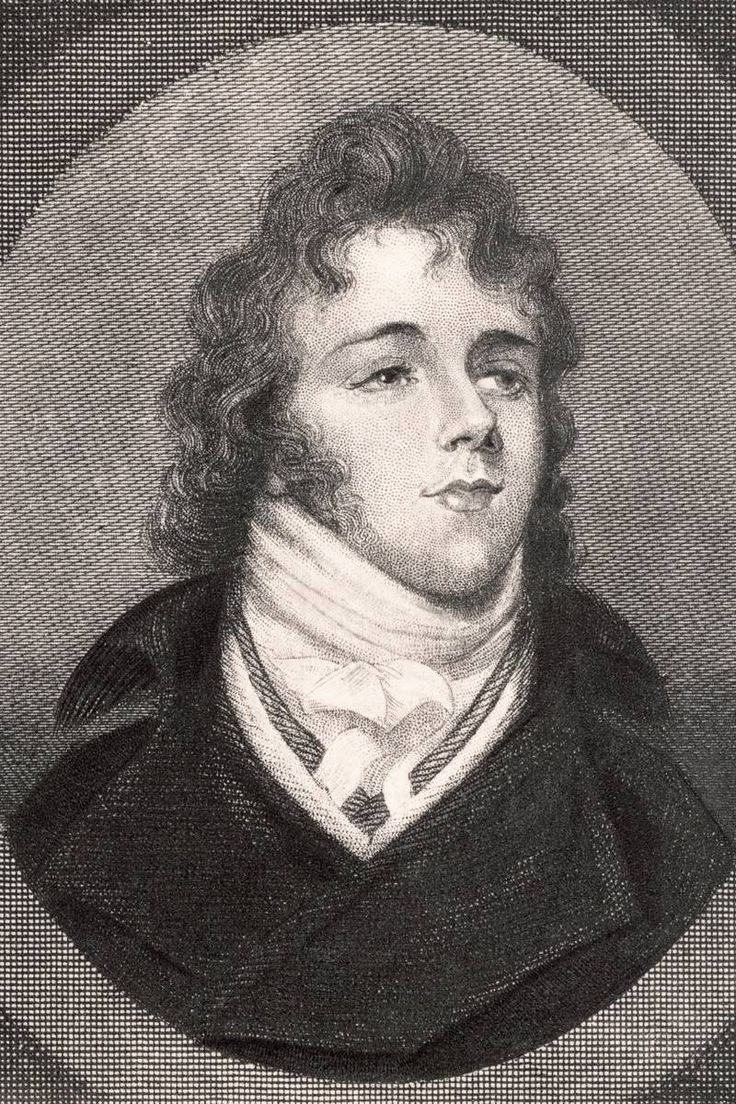 """Another of Fanny's famous fashionable cousin, George Bryan """"Beau"""" Brummell"""