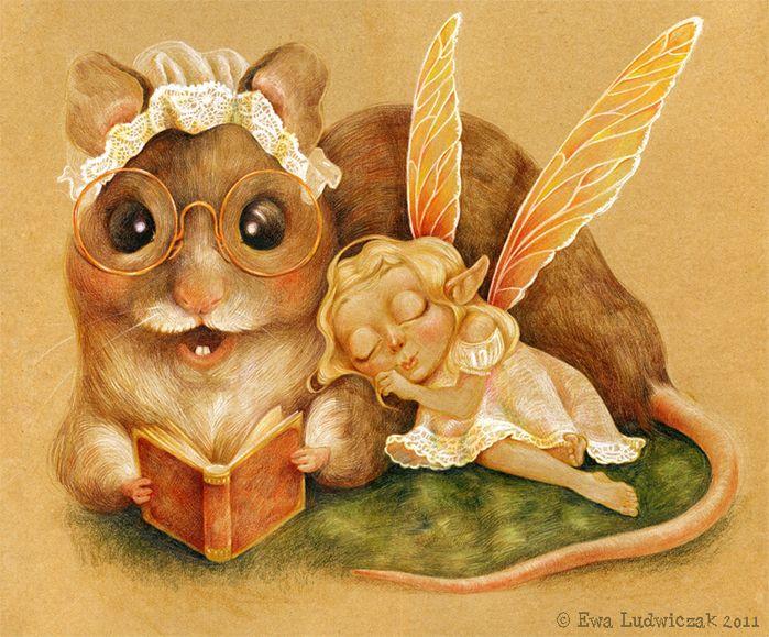 Мышиные сказки на ночь для феи